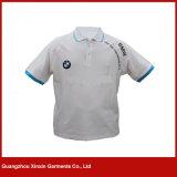 Camisa de T feito-à-medida do polo do miúdo para a criança (P92)