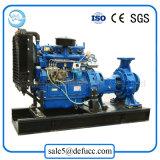 Horizontale Dieselmotor-zentrifugale Wasser-Pumpe für Gruben