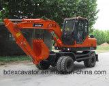 Excavador hidráulico de la rueda de Baoding