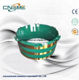 Alternativer Lieferant der Mesto Kiefer-Zerkleinerungsmaschine-und Kegel-Zerkleinerungsmaschine-Filterglocke-Zwischenlage-Teile