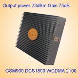 Tri Mobiltelefon-Signal-Verstärker St-9182 des Band-Signal-VerstärkerGSM/Dcs/WCDMA 900/1800/2100MHz
