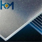 3.2mm Toughened Arc Super White Solar Panel Glass avec High Transmittance