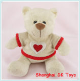 Valentine Teddy Bear Teddy Bear mignon avec Tissu