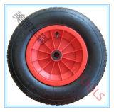 4.00-8 Rotella di gomma pneumatica del battello pneumatico con l'orlo di plastica