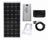 Mono панель солнечных батарей 100W для солнечного уличного света 12V