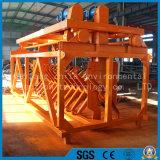 有機肥料の合成物または開いたローラーの高品質の調整の投球機械
