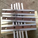 Metalguillotine-scherende Schaufeln für Ausschnitt-Stahlplatte