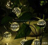 Stringa chiara solare vuota di stupore della lampada LED della sfera LED degli indicatori luminosi leggiadramente del LED dalla Cina