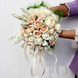 El último ramo nupcial con Flowers03 artificial