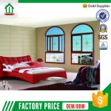 Types d'Aluminum Arched Sliding Windows avec Net pour Houses