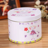 Полька Dots Metal Gift Tin Storage Box для Packing Mugs