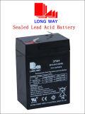 6V4ah Batterij van het Onderhoud van het gel de Vrije Zonne met Goede Kwaliteit