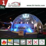 Шатер купола выставки прозрачной конструкции напольный для сбывания