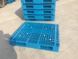 Tipo única pálete plástica enfrentada da entrada de 4 maneiras da cremalheira do tamanho do padrão 1200X1000X150mm