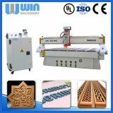 Goedkope CNC van de Gravure van de Deur van de Prijs 4.5kw Houten Scherpe Houten Machine