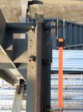 Magazzino mobile prefabbricato della struttura d'acciaio con il disegno moderno