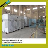 Máquina industrial del secador del alimento de pescados de la circulación del acero inoxidable