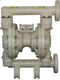 PP에 있는 1.5inch 공기에 의하여 운영하는 펌프