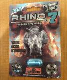 Platino del rinoceronte 7 3000 5000 píldoras del reforzador del sexo del magnesio