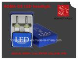 Ce, RoHS, IP68, farol do diodo emissor de luz do farol H1 H3 H7 Hb3 Hb4 4800lm do diodo emissor de luz de Xhp 50 do CREE