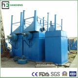 Linha de produção tratamento da Coletor-Metalurgia da poeira do Liso-Saco da inserção da Lado-Peça do fluxo de ar