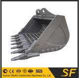 A máquina escavadora da fábrica de China parte o fabricante, cubeta do esqueleto da máquina escavadora