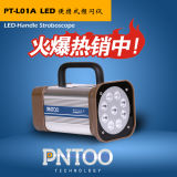Stroboscopio UV portatile del LED