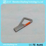 Stok van de Vorm USB van de Driehoek van Keychain van het metaal de Zeer belangrijke (ZYF1722)