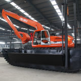 Hydraulisches Excavator mit Undercarriage Pontoon