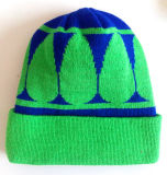 수를 놓은 뜨개질을 하는 모자 (S-1074)를 뜨개질을 하는 혼합