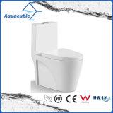 Toilette en céramique de cabinet monopièce de Siphonic de salle de bains (AT0200)