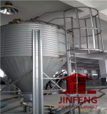 Sistema del silo para el uso del marco de Equipent de las aves de corral del pollo (JF-A-L003)