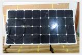Comitato solare semi flessibile solare del materiale 100W 18V della pila di Sunpower per le barche