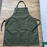 Cozinha feita sob encomenda das cintas de couro da lona do algodão da alta qualidade que cozinha o avental