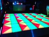 Los 2017 nuevos paneles blancos impermeables de acrílico LED Dance Floor del baile en la demostración de DJ del partido de la etapa de la boda