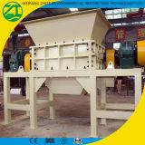 Déchets de plastique/du bois/solides/mitraille/mousse/défibreur utilisé par pneu avec l'arbre deux en Chine