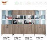 Gabinete modular comercial do gabinete de arquivo da mobília da biblioteca do gabinete de armazenamento da mobília de escritório da melamina (H20-0634)