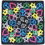 L'enveloppe promotionnelle de tête d'écharpe d'impression a personnalisé le Bandana de coutume d'écharpe estampé par coton de Paisley Headwear