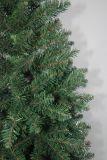 現実主義者のストリングライトマルチカラーLED装飾(7QYB)が付いている人工的なクリスマスツリー