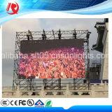 Indicadores de diodo emissor de luz do anúncio ao ar livre de cor cheia P10 de brilho elevado