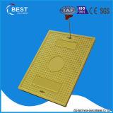 Coperchio composito delle Telecomunicazioni SMC 700X500mm della resina standard di A15 En124