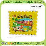 Ricordo personalizzato Colombia (RC-CO) dei magneti del frigorifero del silicone dei regali di promozione