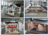 Multi máquina do cnc da linha central da cabeça 4 para fazer os pés da mobília