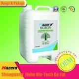 Fertilizante Foliar com GV, TDS do boro elevado do concentrado