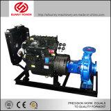 6-8inch 비바람에 견디는 닫집을%s 가진 관개를 위한 디젤 엔진 수도 펌프