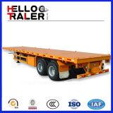 2 de Aanhangwagen van de Container van de as voor 20gp, 40hq de Aanhangwagen van de Container