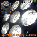 Luz principal móvil de la viga de la barra LED del disco de 7 PCS*15W DJ (SF-122)