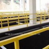 Anti-Corrosion FRP GRP 손잡이지주, FRP 단면도, 섬유유리 Pultrusion 관