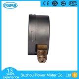 l'acciaio inossidabile del collegamento inferiore di 4 '' 100mm muggisce il manometro