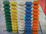 Frontière de sécurité enduite colorée de maillon de chaîne de PVC avec le prix bas